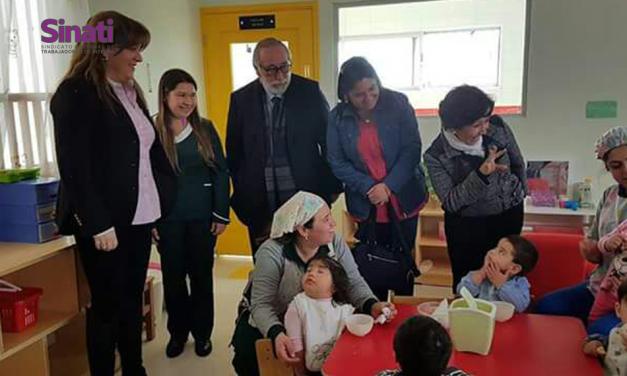 """SINATI presente en Inauguración Jardín Infantil """"San Antonio"""" de Talca"""
