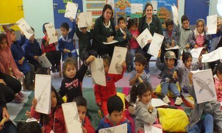 COQUIMBO: Niños y niñas de Integra celebran el Día del Libro Infantil