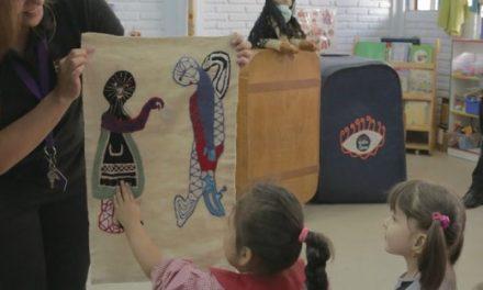 """REGIÓN METROPOLITANA: """"La Maleta de Violeta"""" viajó hasta jardín infantil de San Joaquín"""