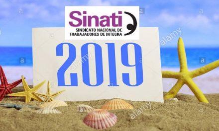 SINATI INFORMA: Comunicado Campamento de Verano 2019