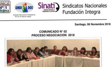 SINDICATOS NACIONALES COMUNICADO N° 02 PROCESO DE NEGOCIACIÓN 2018