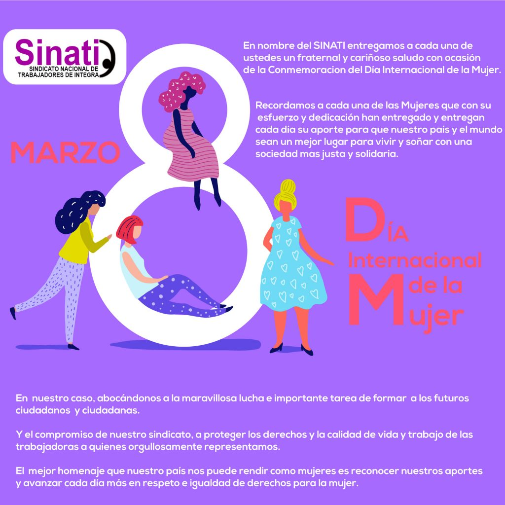 Dia Del Trabajador Mujeres feliz día internacional de la mujer – sinati